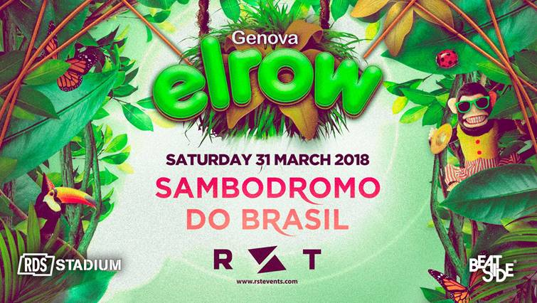 ElRow Genova sambodromo do Brasil